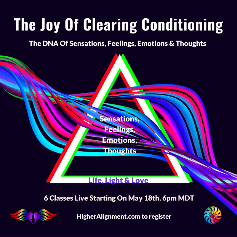 Picture of The Joy of Clearing Conditioning * JOCC   6 Tuesdays 5/18-6/22 @ 6 pm MDT