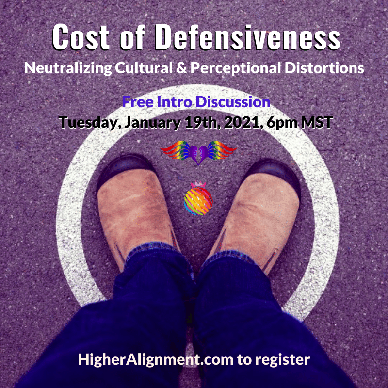 Picture of *** The Cost of Defensiveness TDH *** Free Intro - Defensive Healing